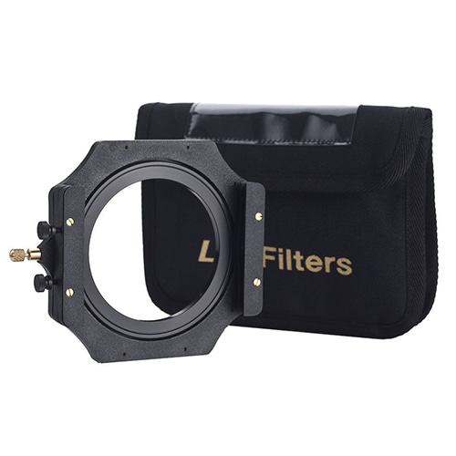 "[슈나이더] 4"" Filter Holder (up to 2 filters) with 77mm Adapter Ring"