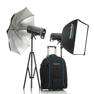 [Broncolor] Siros 400 L Outdoor Kit 2(31.750.XX)