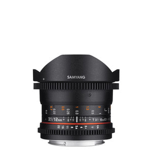 [SAMYANG] Cine 12mm T3.1 VDSLR ED AS NCS Fish-eye