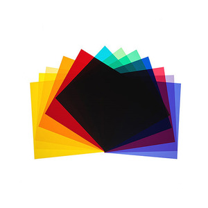 [Broncolor] Colour filters 12 pieces (P70) (33.307.00)