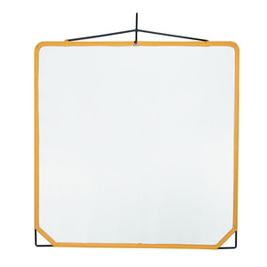 "[Matthews] Solid Frame Scrim 48"" x 48"" White Aritifical Silk (159015)"
