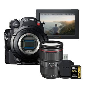 [CANON] C200 프로모션상품 2C200 + 24-105mm + Assist 4K Monitor + 128GB SD카드