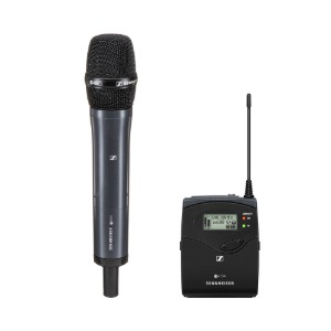 [SENNHEISER] EW 135P G4-K+ CAMERA MOUNT Wireless Cardioid Handheld Microphone System