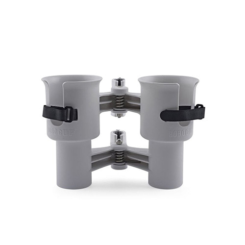 [ROBOCUP] Dual Cup Holder - Gray